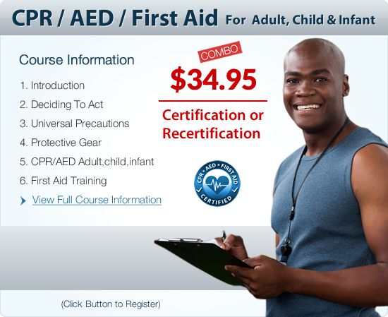 CPR Aed Online Certification | CPR Certification Online